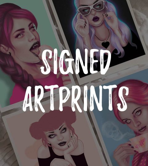 + SIGNED Art Prints +