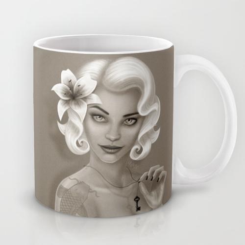 Silent Stargazer Mug by Wendy Stephens